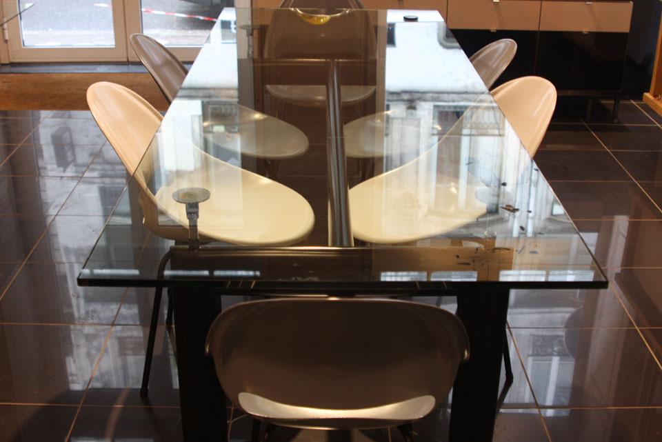 Table LC6 Le Corbusier   Cassina   Quartz Design