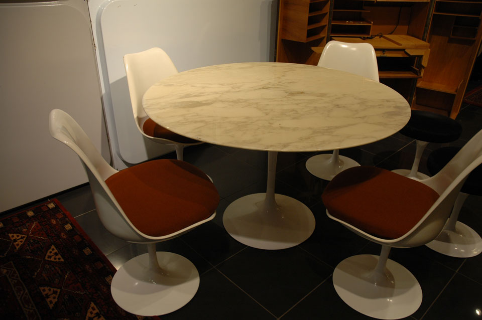 table marbre tulip eero saarinen arabescato. Black Bedroom Furniture Sets. Home Design Ideas