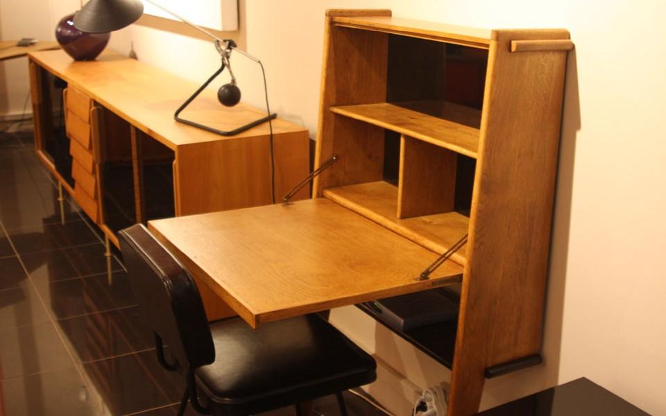 39galerie pr sente un meuble secretaire andr gabriel for Un secretaire meuble