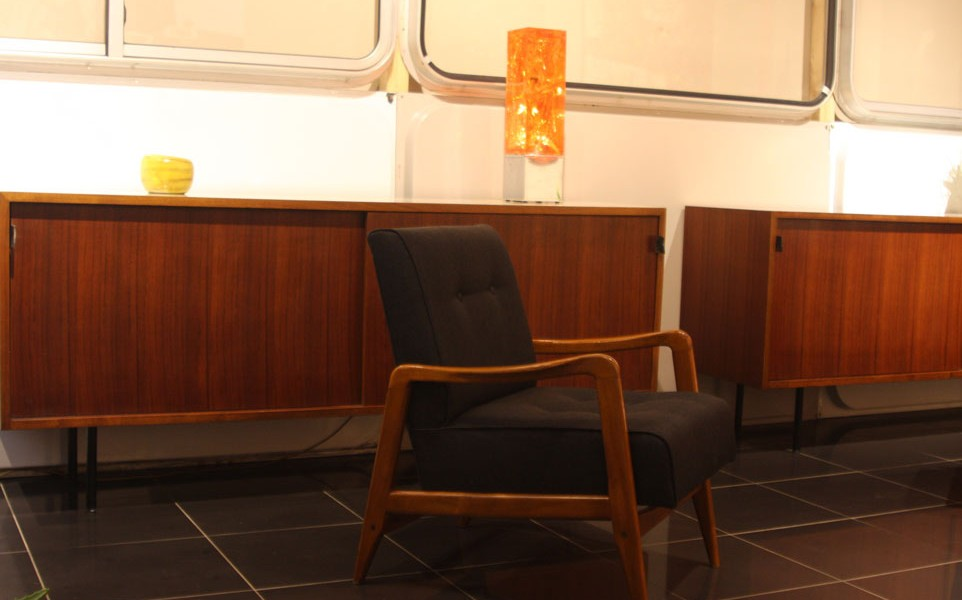 fauteuil gio ponti cassina présenté par 39Galerie