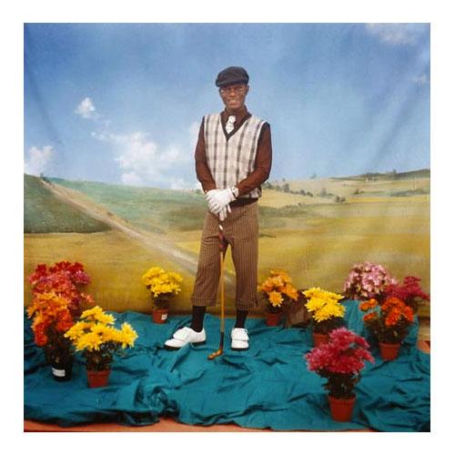 39galerie samuel fosso - Le Golfeur