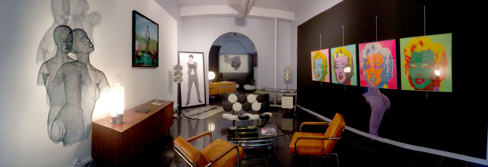 39Galerie - ambiance Andy Warhol