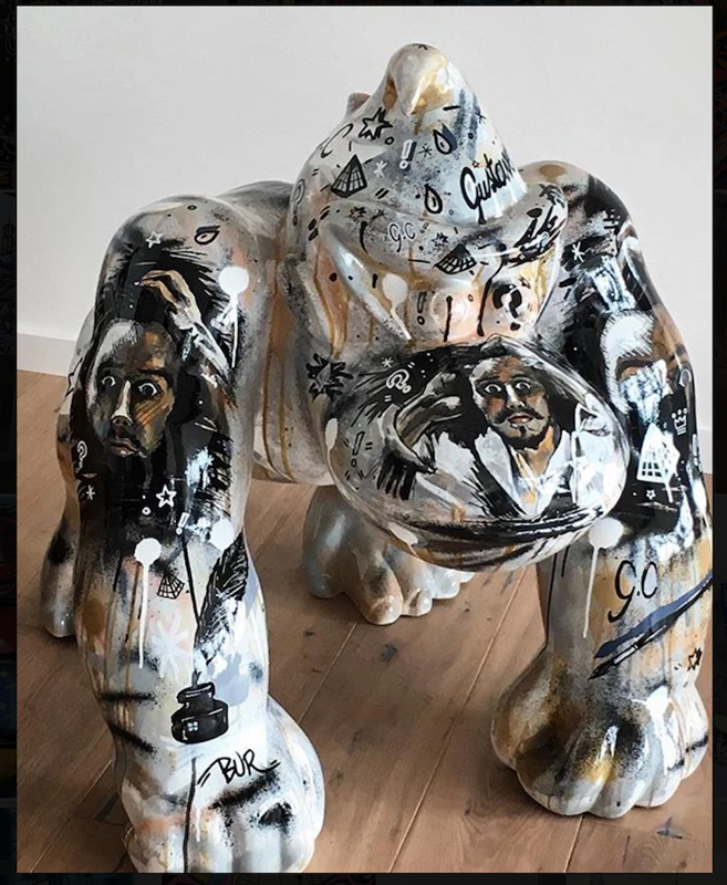 39galerie Agent d'artistes : BUR série dunkey