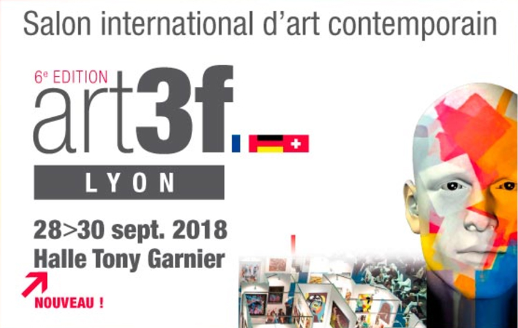 Bellair Design exposera lors du salon international d'art contemporain Art3f Lyon 2018.