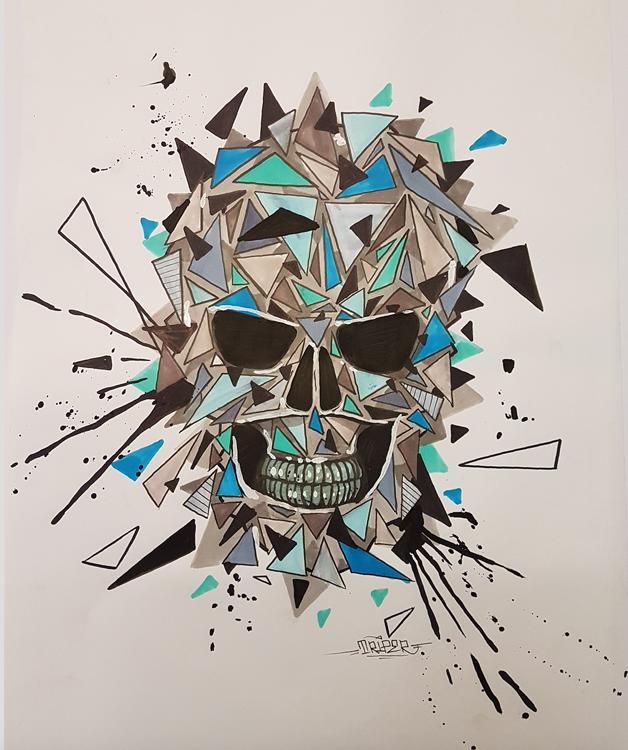 39Galerie Lyon - TRIPER artiste graffeur